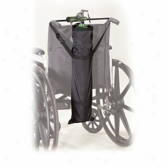 Drive Medical Deluxe Wheelchair Carry Pouch For Oxygen Cylinders