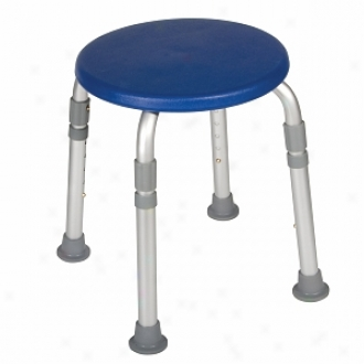 Drive Medical Designer Series Adjustable eHight Bath Stool, Blue