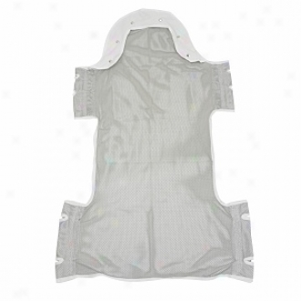 Drive Medical Sling Attending Head Support And Insert Pocket And Commode Cutout Option