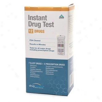 Drugconfirm Pressing Multi Drug Test Kit, 12 Drugs (7 Illicit + 5 Prescription)
