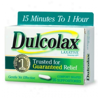 Dulcolax Laxative Comfort Shaped Suppositories