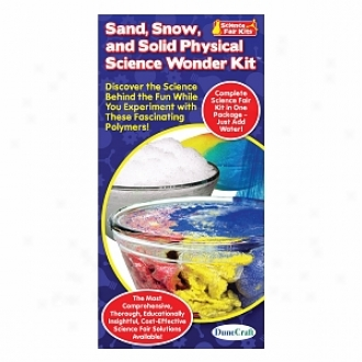 Dunecraft Gravel, Snow, And Solid Physical Science Wonder Kit