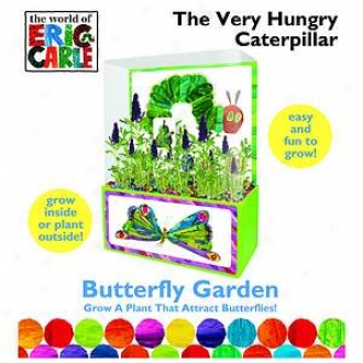 Dunecraft The Very Hungry Caterpillar Butterfly Garden Ages 4+