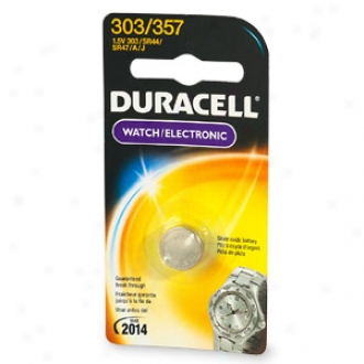 Duracell Watch Size Battery, Sizs 303/357