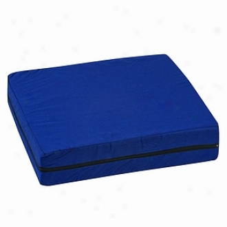 Duro-med Standard Polyfoam Whheelchair Cushion, 16  X 18  X 4 , Navy