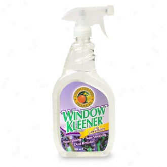 Earth Friendly Products Window Kleener Witth Lavender