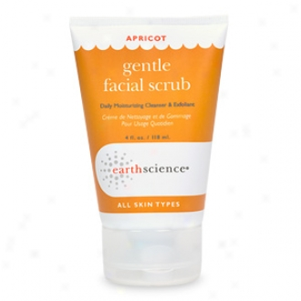 Earth Science Gentle Facial Scrub, Apricot