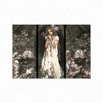Educa Guardian Angel Triptych, V. Frances Puzzle: 1500 Pc Ages 12 And Up