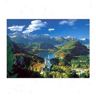 Educa Neuschwanstein Castle 5,000 Piece Jigsaw Puzzle, Ages 12+