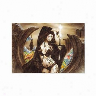 Educa The Goddess Ama-no-uzume And Dawn, Luis Royo Puzzle: 1500 Pc Ages 12 And Up