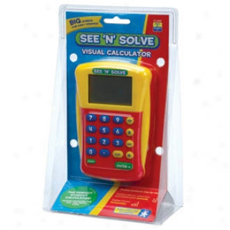 Educational Insights See 'n' Explain, Visual Calculator, Ei-8480 Ages 6+
