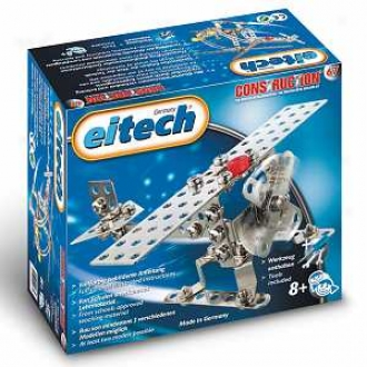 Eitech Basic Mini Airplane And Helicopter Construction Set Ages 8+