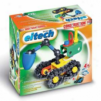 Eitech Beginner Demolition Digger Construction Set Ages 4+