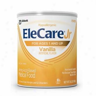 Elecare Jr Amino Acid Based Medical Aliment, Powder, Ages 1+, Vanilla