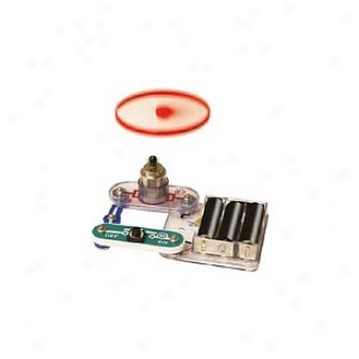 Elenco Electronics Snap Circuits Mini Kit: Flying Saucer Ages 8 And Up