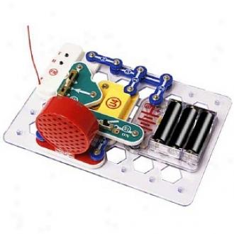 Elenco Electronics Snap Circuits Mini Kit: Fm Radio Ages 8 And Up