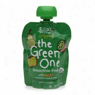Ella's Kitchen Organic Fruit Smoothie For Babies, The Green One