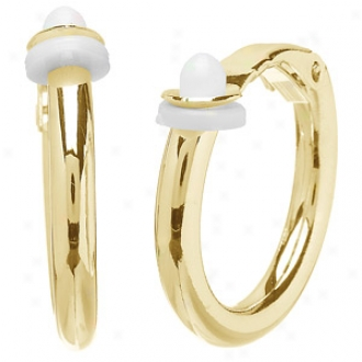 Emitations Charline's Clip On Hoop Earrings - Smal,l Gold
