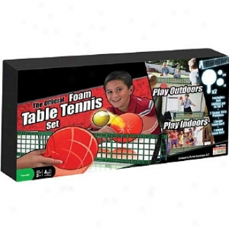 Endless Games Espn Official Foam Table Tennix Set Ages 8 And Up