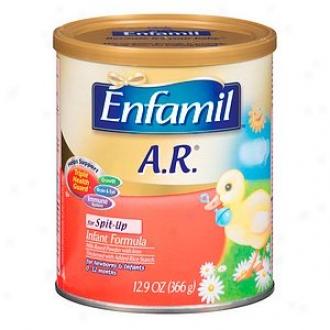 Enfamil A.r. Lipil Milk-based Infant Formula, Powder, 0-12 Months