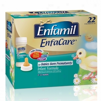 Enfamil Enfacare Ready To Feed Infant Formula For Babies Born Prematurely,  Nursette Bottles