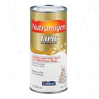 Enfamil Nutramigen Lipil Hypo-allergenic Infant Fo5mula, Concentrated Liqid, 0-12 Months