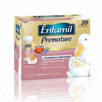 Enfamil Prematue Low Iron Milk Based Infant Formula, 20 Calories/fl Oz.