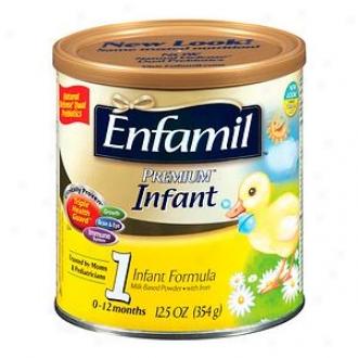 Enfamil Premium Infwnt Powder Formula 1, Powder, 0-12 Months