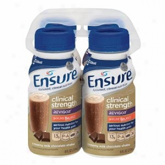 Ensure Clinical Strength Food Shake With Revigor & Immune Balance, Creamy Milk Chocolate