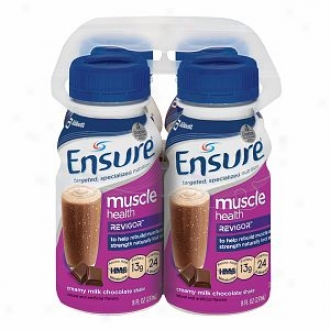 Ensure Muscle Soundness Nutrition Shka eWith Revigor, Creamy Milk Chocolate