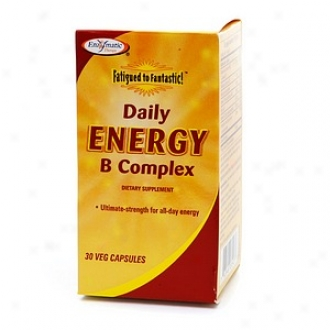 Enzymatic Therapy FatiguedT o Fantastic! Daily Capacity of work B Complex, Veg Capsules