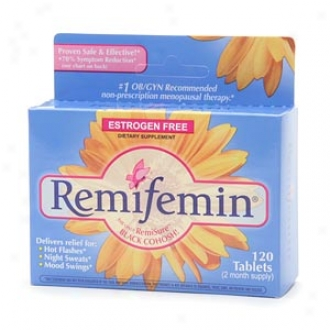 Enzymatic Therapy Remifemin Menopayse, Estrogen Free, Tablets