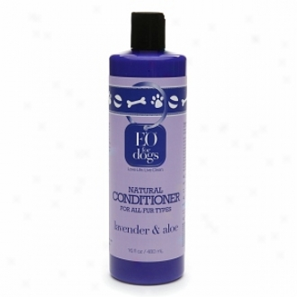 Eo Natural Dog Conditioner For All Fur Types, Lavender & Aloe