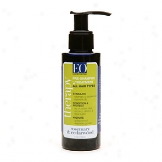 Eo Pre-shampoo Therapy Treatment, Rosemary & Cedarwood