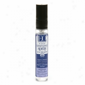 Eo Sanitizing Hand Spray, Organic Lavender With Echinacea