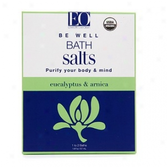 Eo Single Serve Bath Salt, Be Sufficiently- Eucalyptus & Arnica