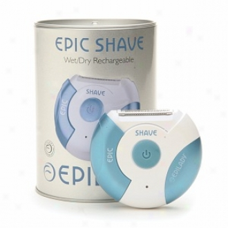 Epilady Epic Shave Wet/dry Rechargeable Epilator, Model Ep-843-10