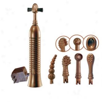 Eroscillator Top Deluxe Vibrator With Attachments