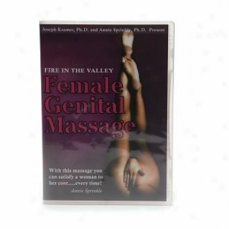 Erospirit Fire In The Valley: Female Genital Massage, Dvd