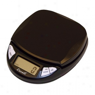 Escali Pico Divital Scale 11lb/5kg, Silver Midnight Black