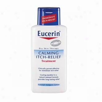 Euceein Calming Itch-relief Treatment Visible Analgesic Lotion