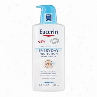Eucerin Everyday Protection Body Lotion, Uva + Uvb Spf 15 Protection
