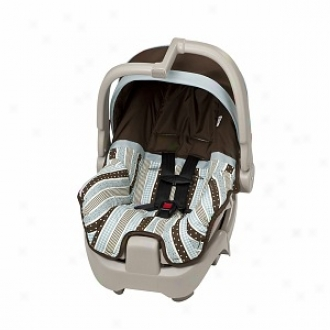 Evenflo Georgia Stripe Disclosure5 Infant Car Seat  3021917, Blue