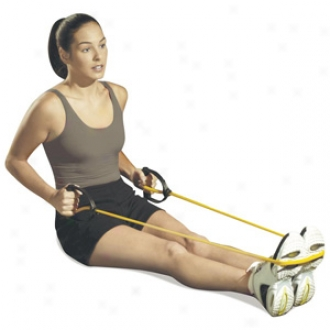 Everlast Fo5 Her Pilates Resustance Tubing With Handles