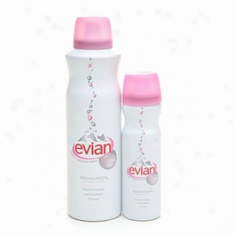 Evian Spray Brumisateur Mineral Water + Travel-size