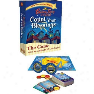 Family Games Chiclen Soup For The Ardor: Count Your Blessings Game Ages 11 And Up