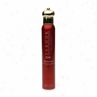 Farouk Royal Treatment By Chi Ultijate Control Fast Drying Volume Shaping Spray, 12