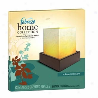 Febreze Home Collectioh Flameless Luminary Refill Shades, Willow Blossom