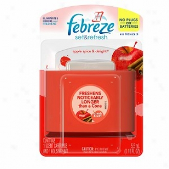 Febreze Set & Refresh Air Freshener, Apple Splce & Delight