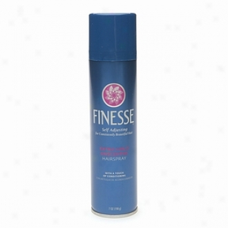 Finesse Self Adjusting Unscented Hairspray, Extra Hold